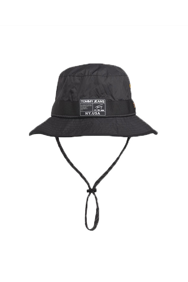 Tommy Jeans urban Tech Buck Hat Black