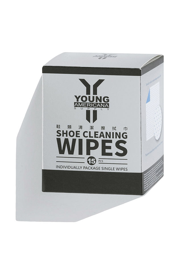 Young Americana Supply Shoe Cleaning Wipes