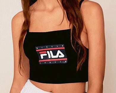 Fila women Crop Cami Black