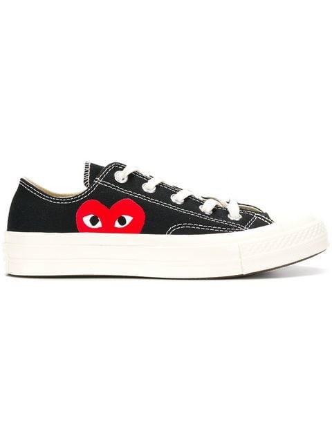 Play Comme Des Garçons Converse All star low Black
