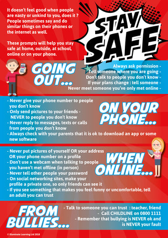 Keeping Safe Poster