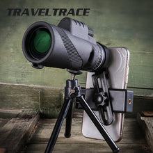 Load image into Gallery viewer, Professional Monocular Powerful Telescope for Mobile Night Vision 40X60 Military Eyepiece Handheld Objective Lens Hunting Optics