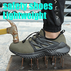 Indestructible Ryder Shoes Men And Women Steel Toe Air Safety shoes