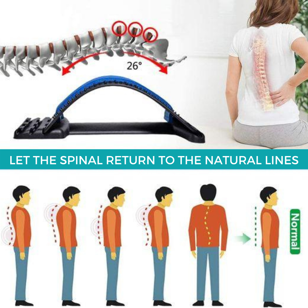Dezire Spinal Curve™ | Back Relaxation Device