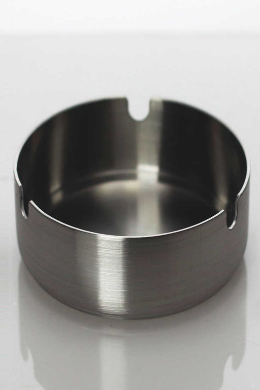 Stainless round ashtray - One wholesale Canada