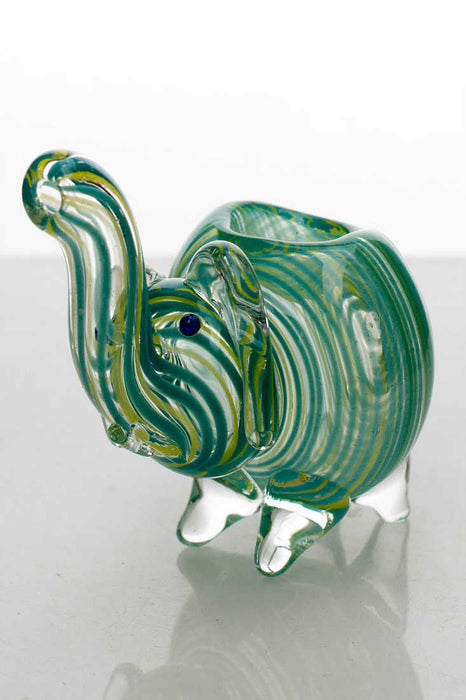 Small elephant glass hand pipe - One wholesale Canada