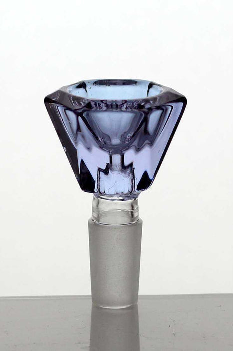Crystal shape Glass bowl - One Wholesale