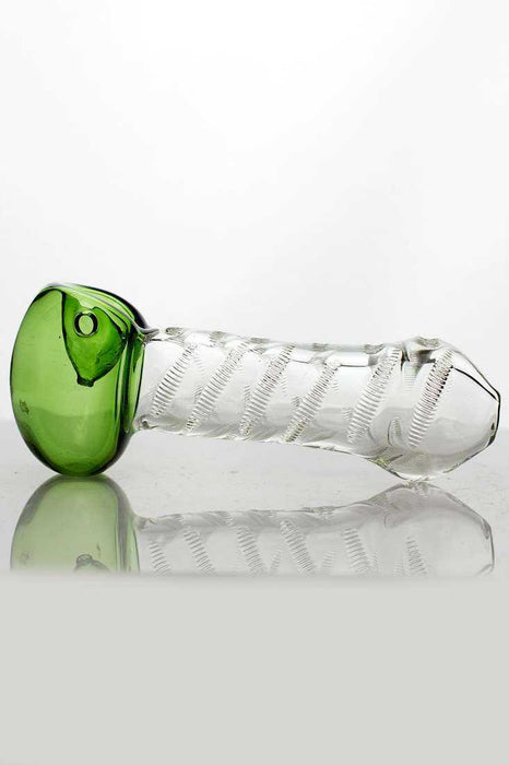 Soft Glass ISP363 Hand Pipe - One wholesale Canada