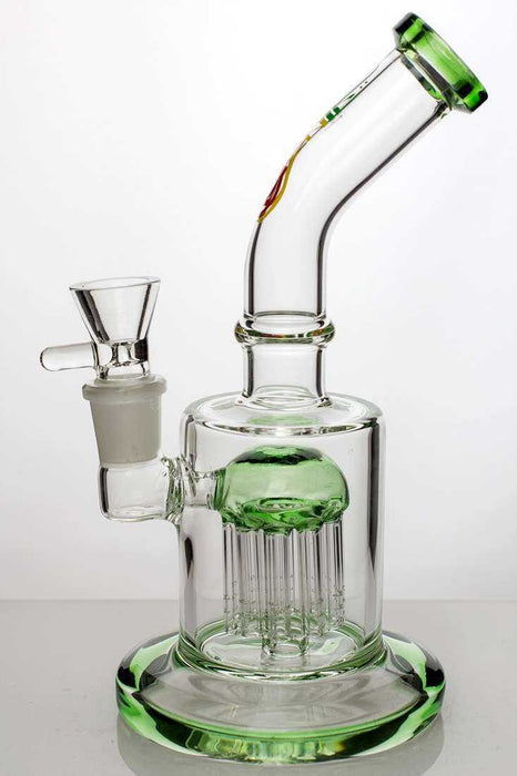 "8"" bent neck bubbler with 10-arm diffuser - One wholesale Canada"
