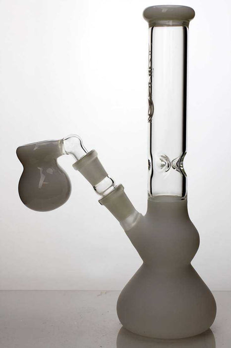 "10"" frosted glass water bong - One wholesale Canada"