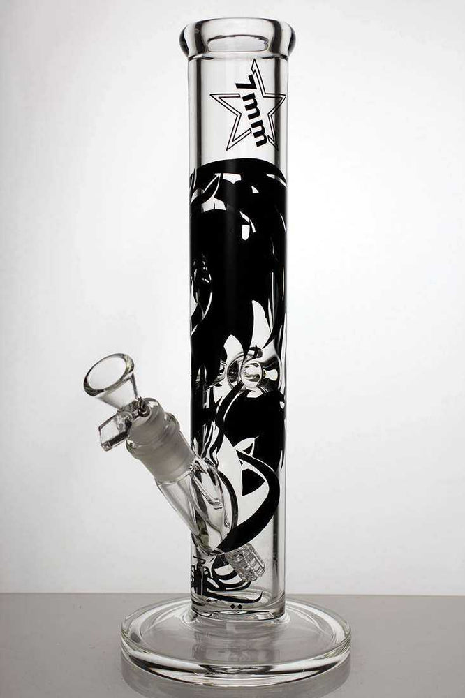 "12.5"" Genie heavy glass graphic tube water pipe - One wholesale Canada"