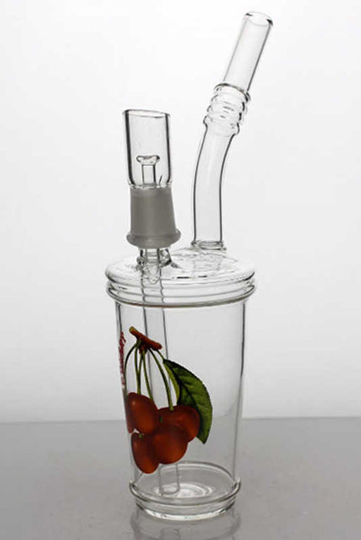 "8"" 2-in-1 Juice slush cup oil rig - One wholesale Canada"