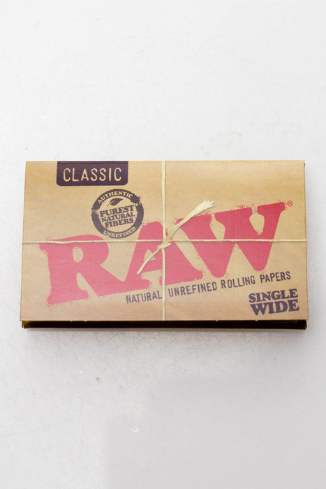 RAW Natural Unrefined Rolling Paper - One wholesale Canada