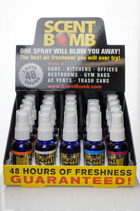 Scent Bomb air fresheners - One Wholesale