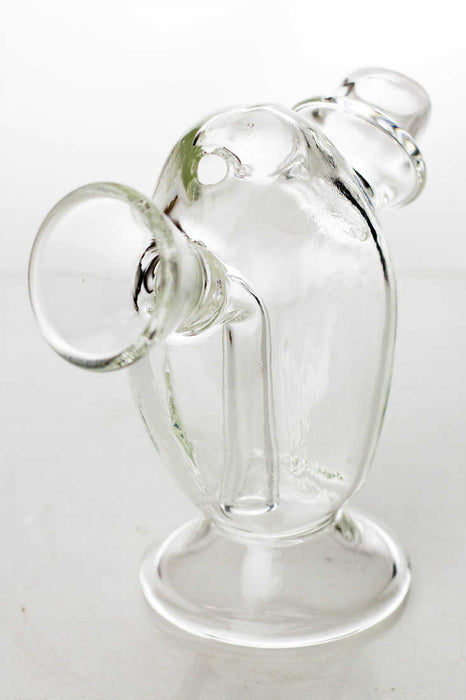 Glass blunt bubbler - One wholesale Canada