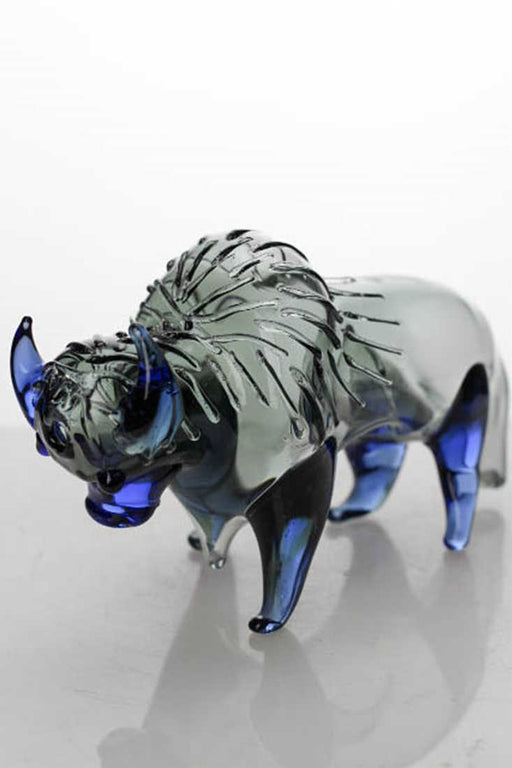 Buffalo shape glass hand pipe - One wholesale Canada