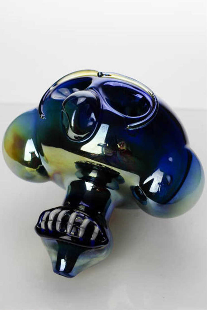 Metallic color Monkey glass pipe - One wholesale Canada