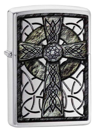 Zippo 29622 Celtic Cross Design - One wholesale Canada