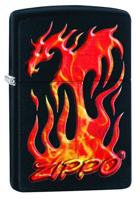 Zippo 29735 Flaming Dragon Design - One wholesale Canada