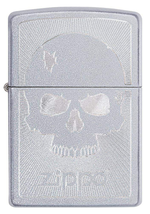 Zippo 29858 Skull With Lines 1 - One wholesale Canada