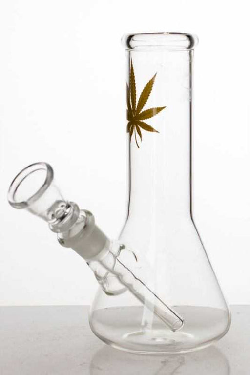 Clear glass beaker water bong - One wholesale Canada