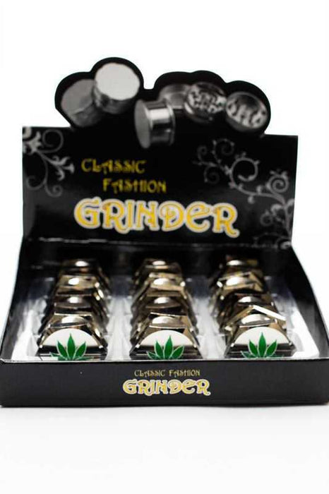 Bolt shape 3 parts metal grinder - One wholesale Canada