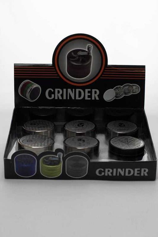 Engraved 3 parts metal grinder - One wholesale Canada
