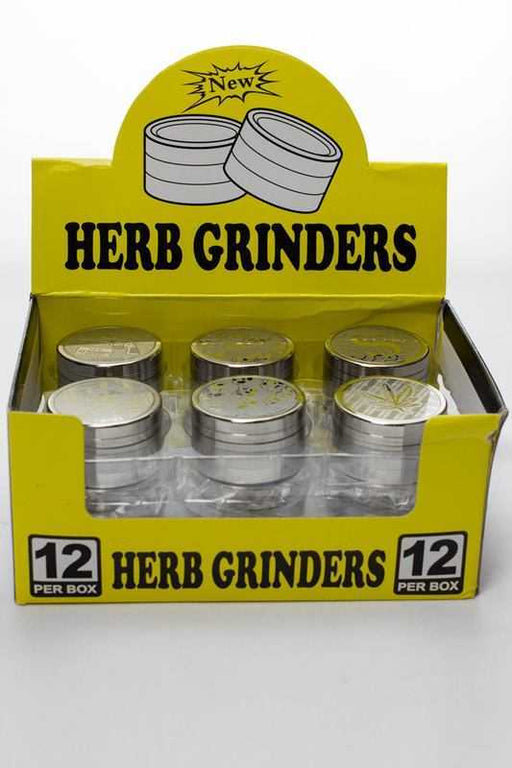 Engraved 3 parts small metal grinder - One wholesale Canada