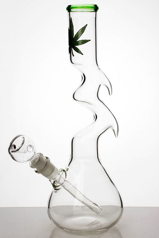 "12"" kink zong water pipe - One wholesale Canada"