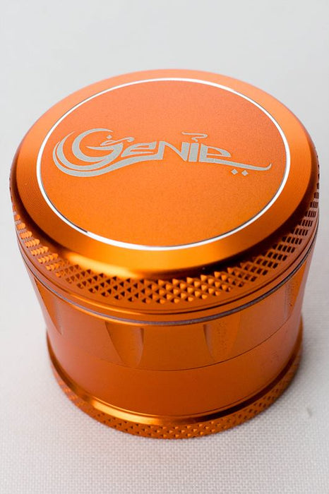 Genie High Quality aluminium 4 parts grinder in display - One wholesale Canada