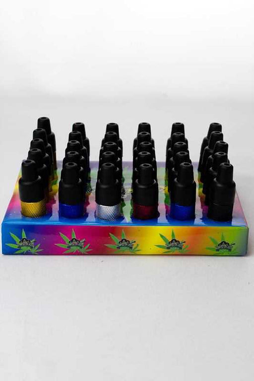 Metal toke pipe 30 display - One wholesale Canada