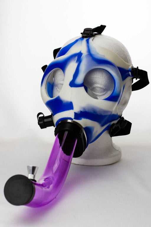 Silicone Gas Mask acrylic bong - One wholesale Canada