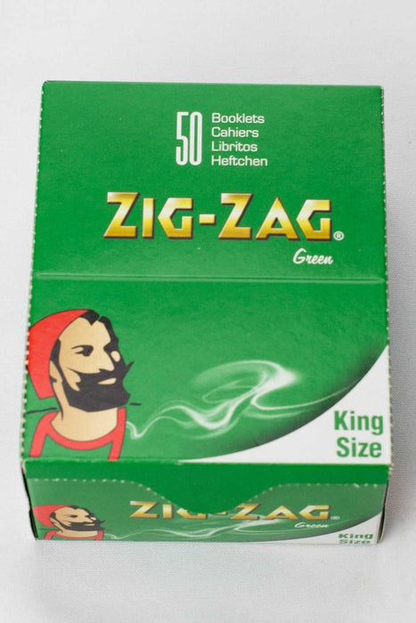 ZIG-ZAG green rolling paper box - One wholesale Canada