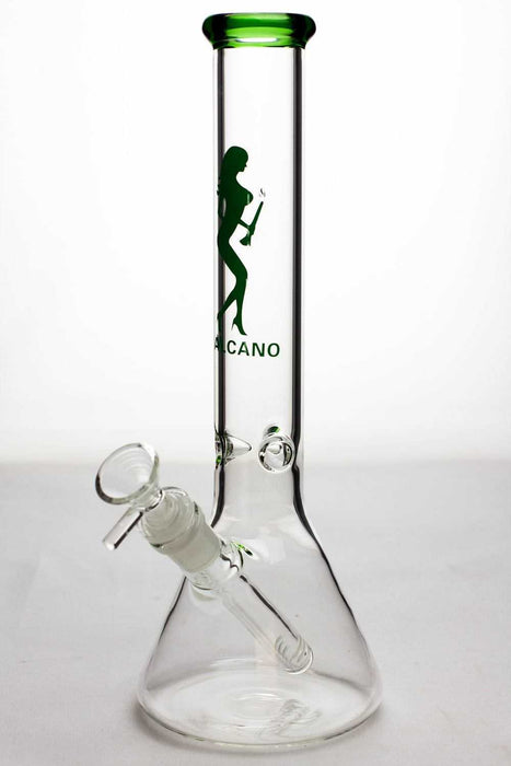 11.5 inches Valcano beaker glass water bong - One wholesale Canada
