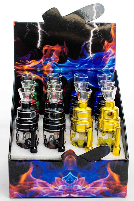 "5"" mini glass water pipe display - One wholesale Canada"