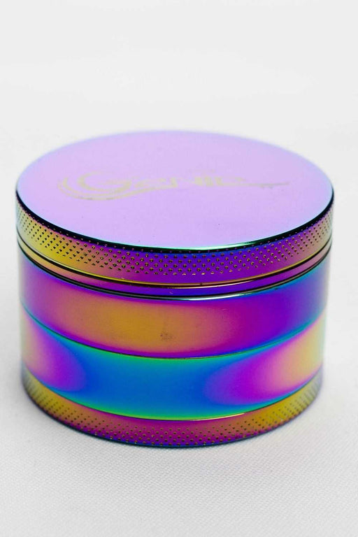 Genie 4 parts rainbow herb grinder - One wholesale Canada