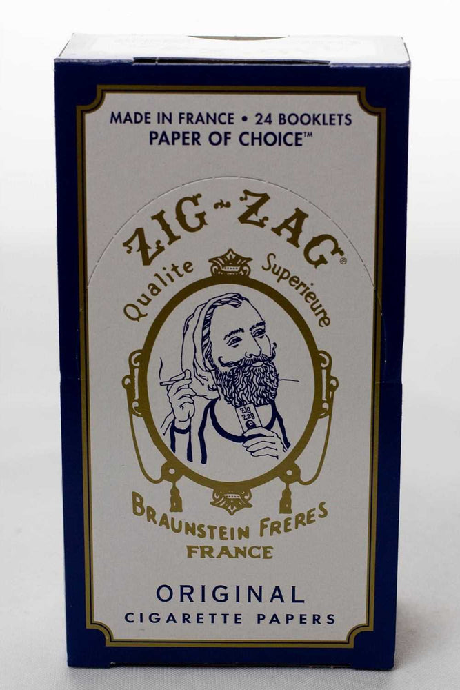 ZIG-ZAG Original Cigarette rolling paper box - One wholesale Canada