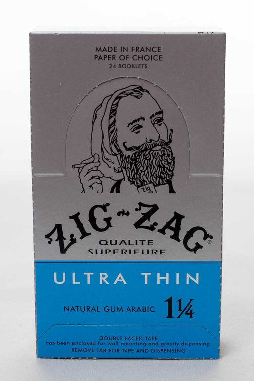 ZIG-ZAG Ultra Thin Cigarette Rolling Papers Box - One wholesale Canada