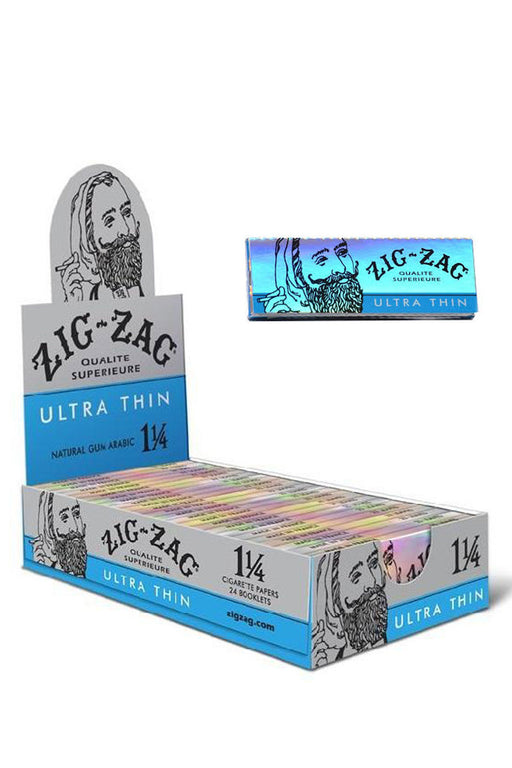 ZIG-ZAG Ultra Thin Cigarette Rolling Papers Box