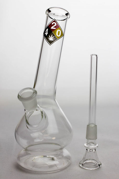 "8"" glass water bong with bowl stem - One wholesale Canada"