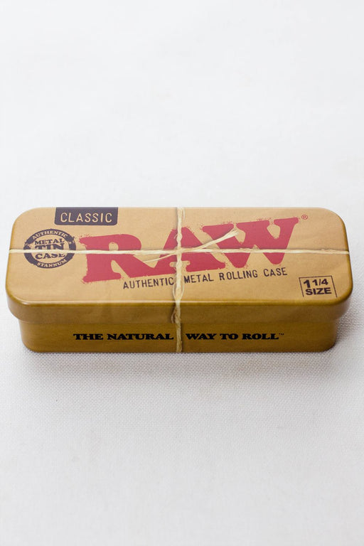 Raw 1-1/4 roll caddy metal roll case - One wholesale Canada