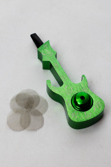 Guitar shape Metal Pipe with metal screen box - One wholesale Canada