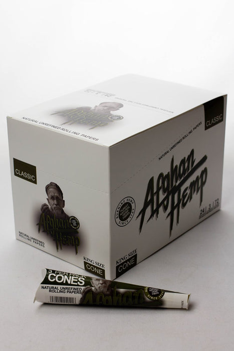 Afghan Hemp Pre-Rolled Cone display - One wholesale Canada