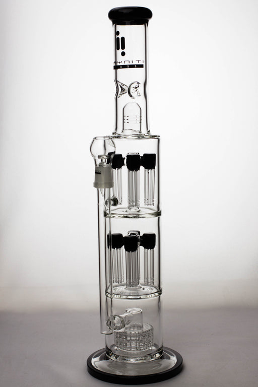 "18"" Infyniti fractal tree arms percolator and barrel diffuser oil rig - One wholesale Canada"