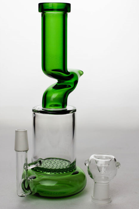 "8"" honeycomb flat diffused kink bubbler - One wholesale Canada"
