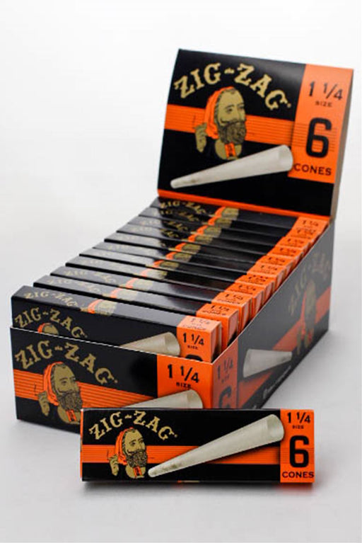 ZIG-ZAG Pre-Rolled Cone display