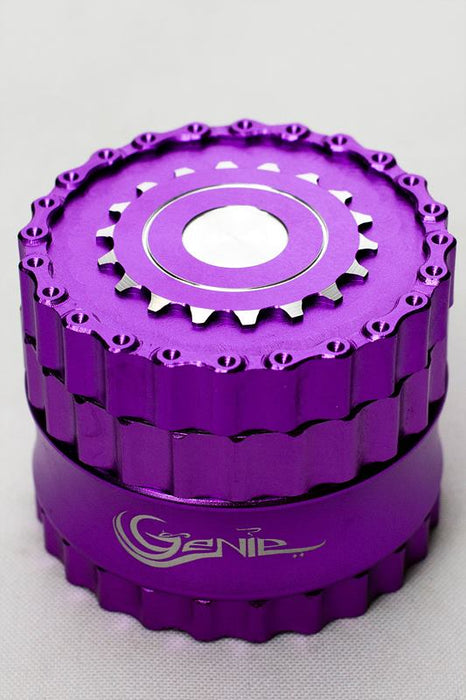 Genie chain and sprocket aluminium grinder - One wholesale Canada