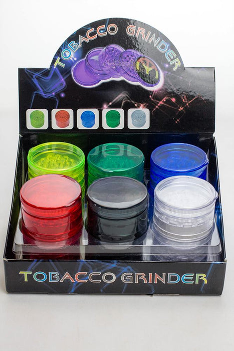 5 parts plastic grinder display - One wholesale Canada