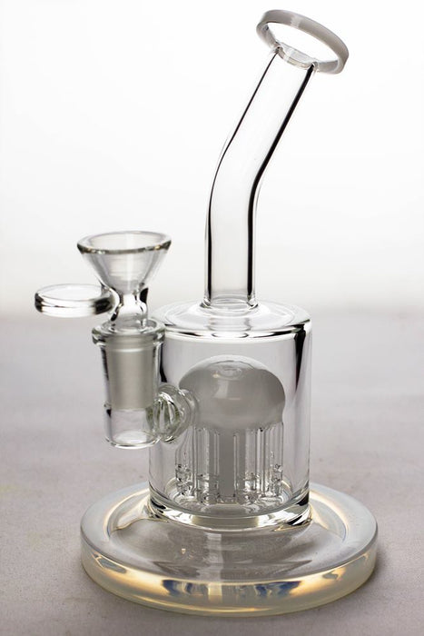 "7"" bent neck bubbler with 8-arm diffuser - One wholesale Canada"