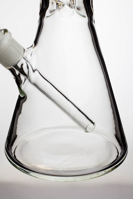 16 in. infyniti glass clear glass beaker  water bong - One wholesale Canada